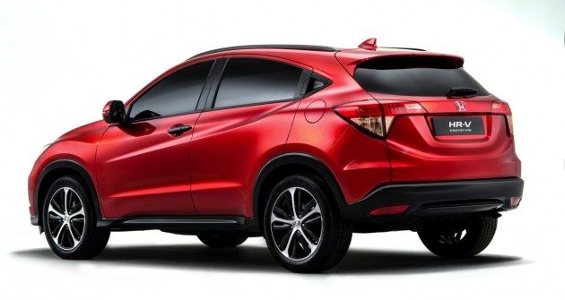 2015 Honda HR-V prototype-rear