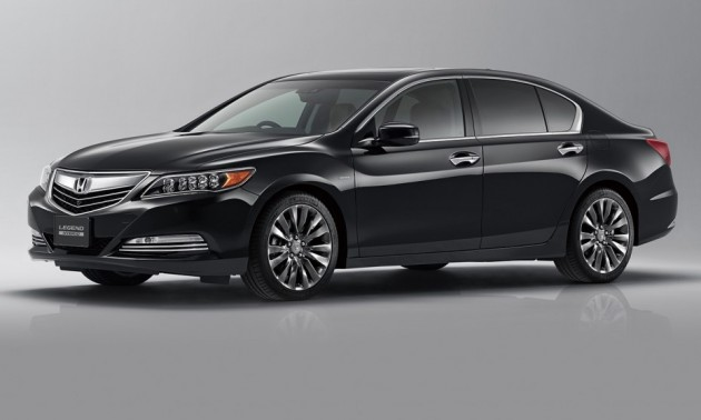 2015 Honda Legend-black