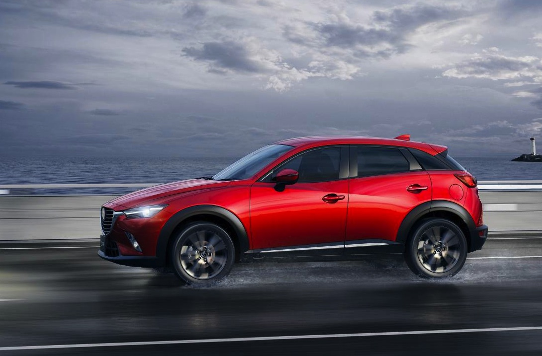 2015 mazda cx 3 unveiled at la auto show performancedrive. Black Bedroom Furniture Sets. Home Design Ideas