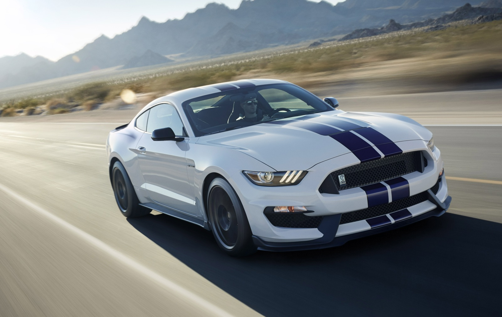 2015 shelby mustang gt350 drivingjpg - Ford Mustang Gt 2015 White