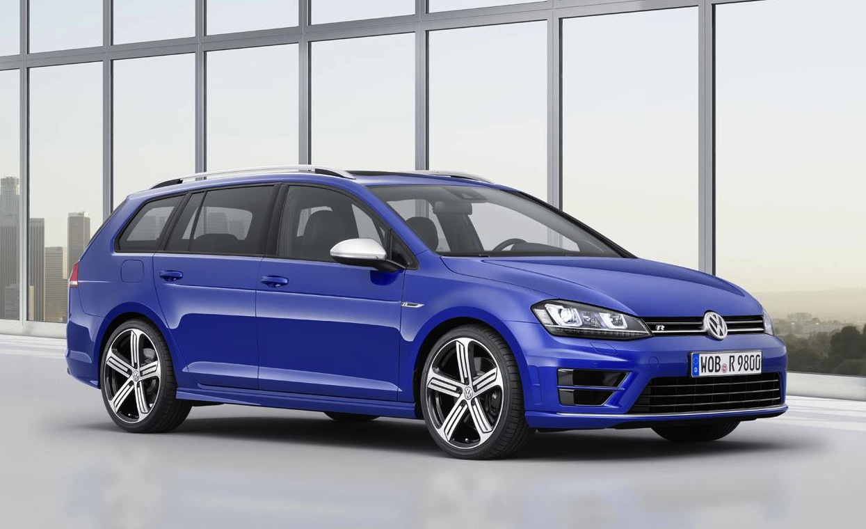 volkswagen golf r variant wagon revealed performancedrive. Black Bedroom Furniture Sets. Home Design Ideas