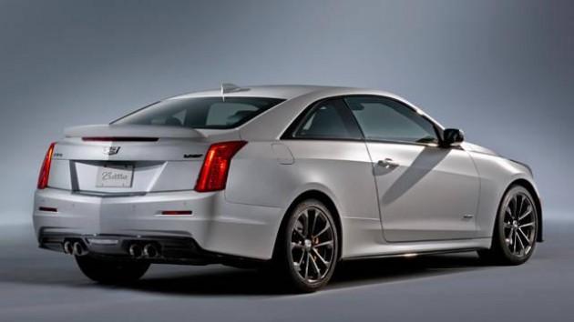 2016 Cadillac ATS-V-rear