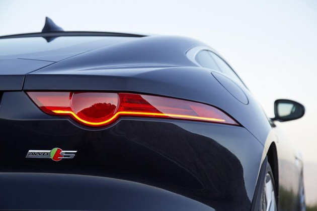 2016 Jaguar F-Type rear