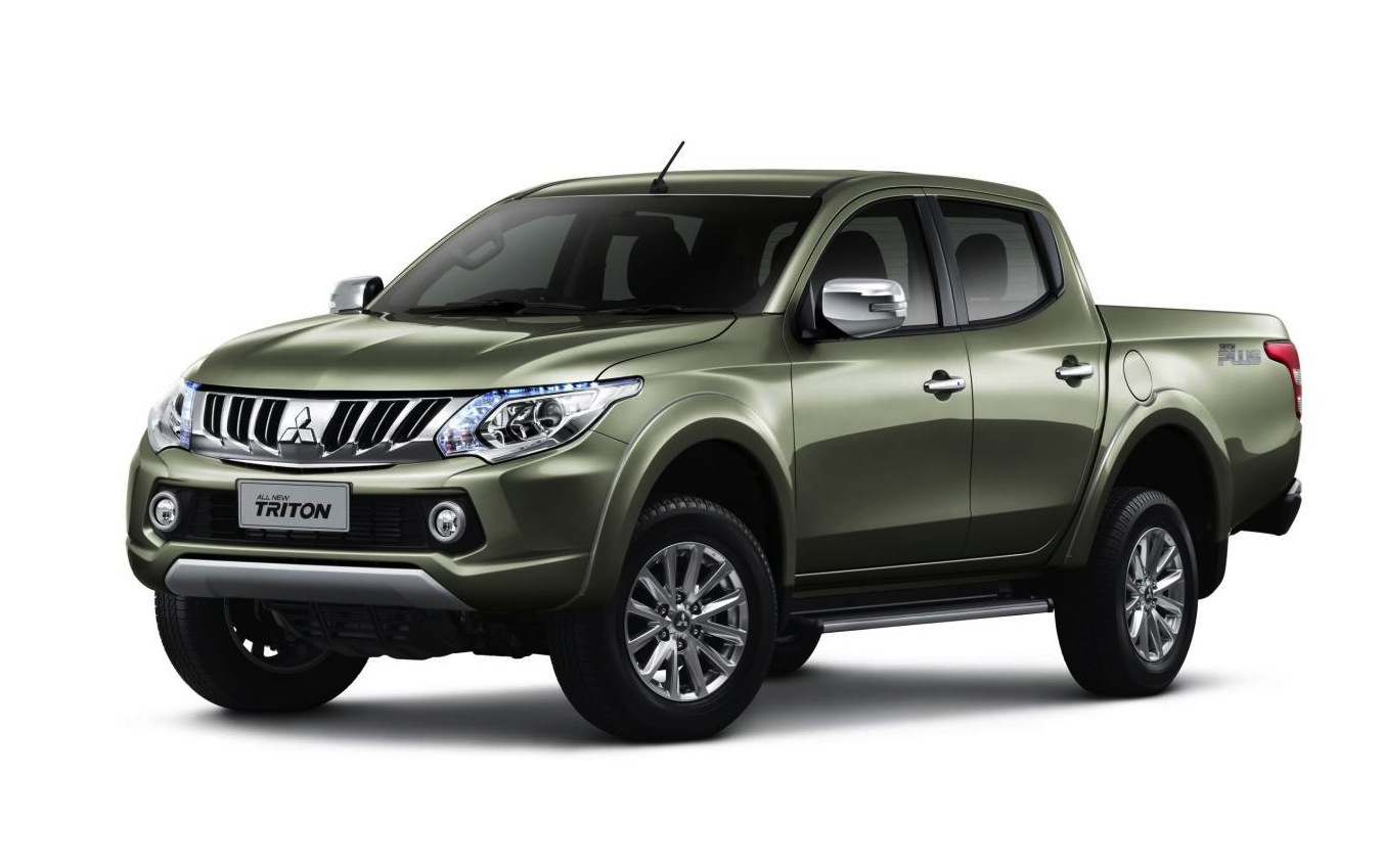 2016 mitsubishi triton revealed gets new 2 4td 6spd. Black Bedroom Furniture Sets. Home Design Ideas