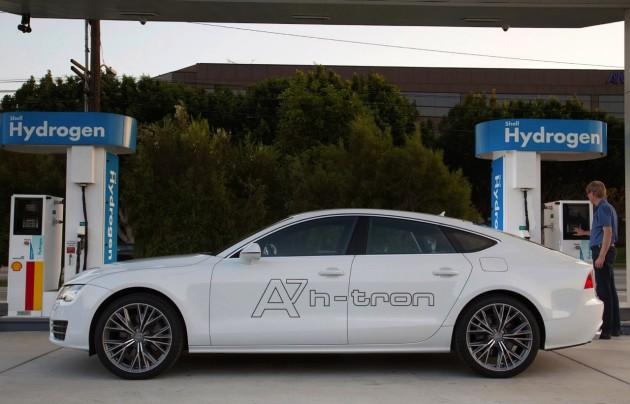Audi A7 Sportback h-tron-charging