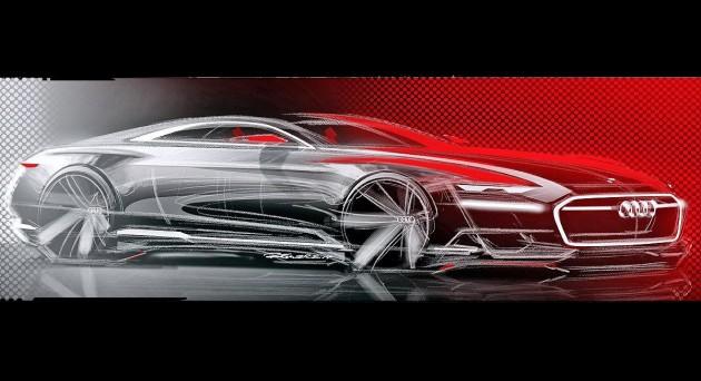 Audi Prologue concept sketch