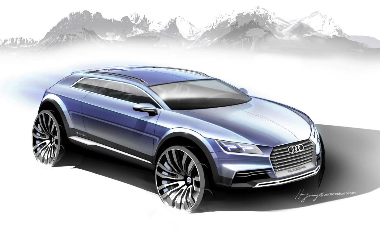 Audi q8 sporty suv confirmed based on next gen q7 for Mercedes benz high end suv