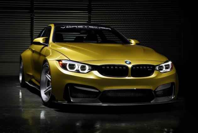BMW M4 GTRS4 Vorsteiner exterior