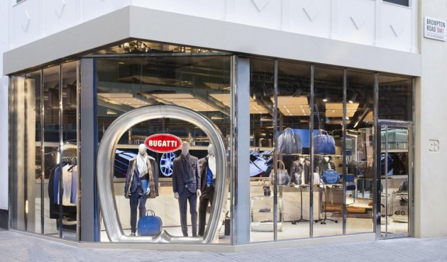 Bugatti London fashion store