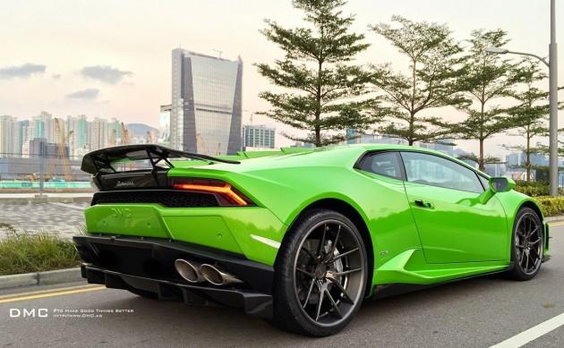 DMC Lamborghini Huracan-back