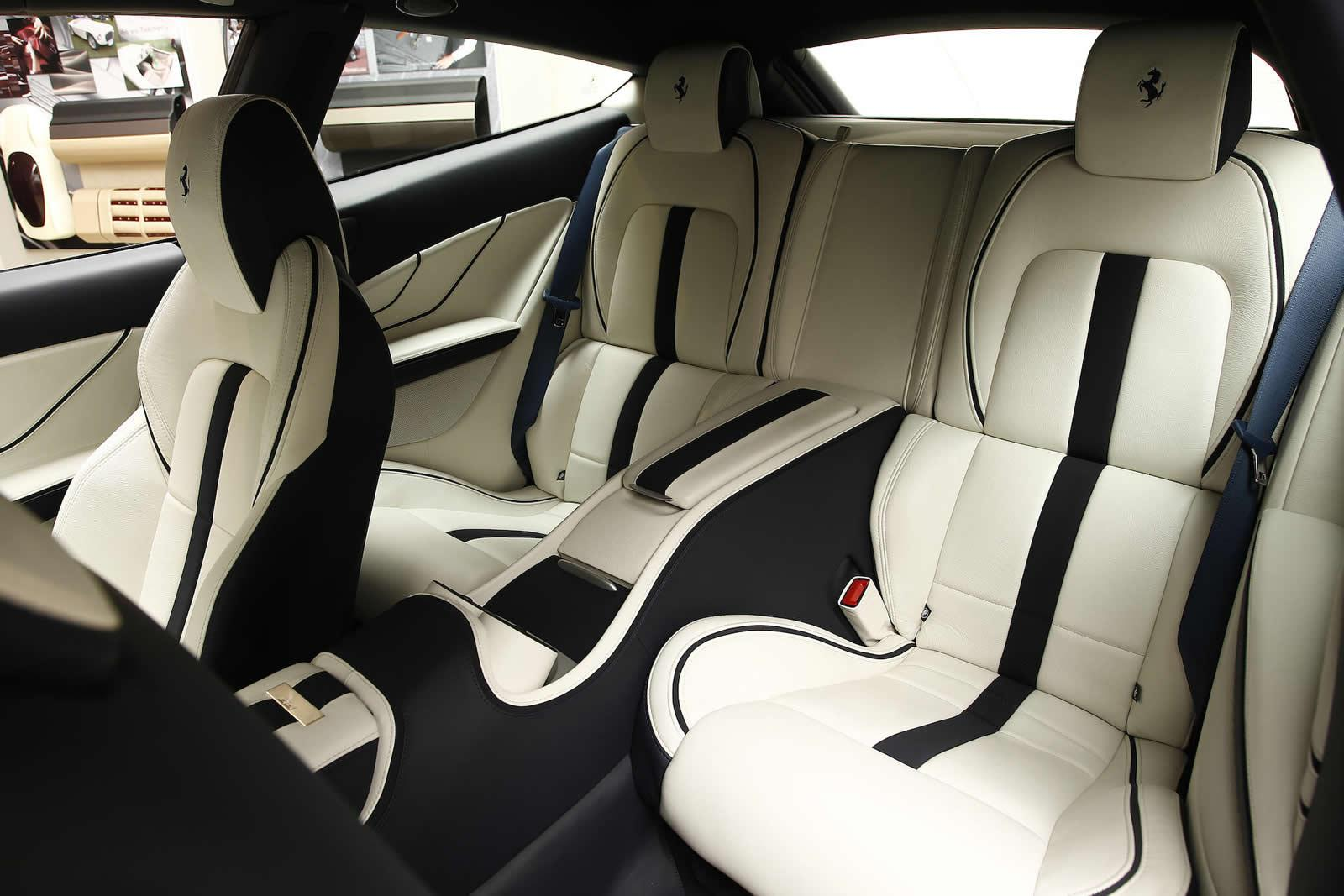 Ferrari FF Tailor Made White Interior