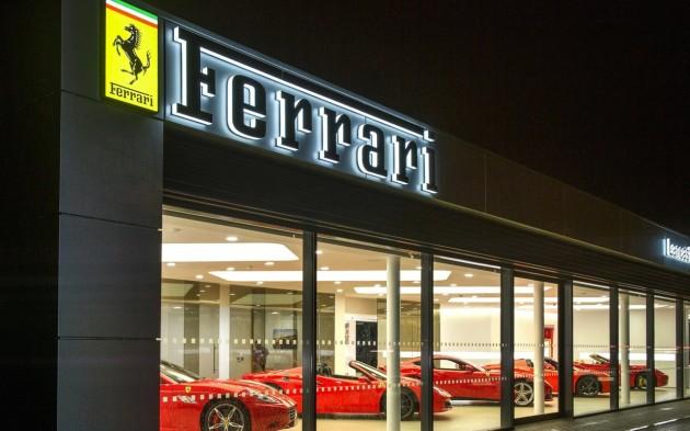 Ferrari dealer
