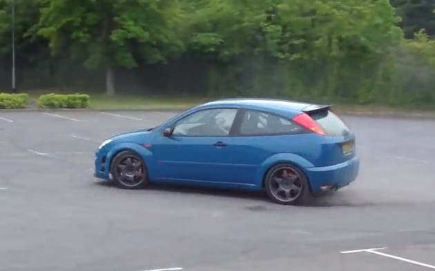 Ford Focus V8 conversion