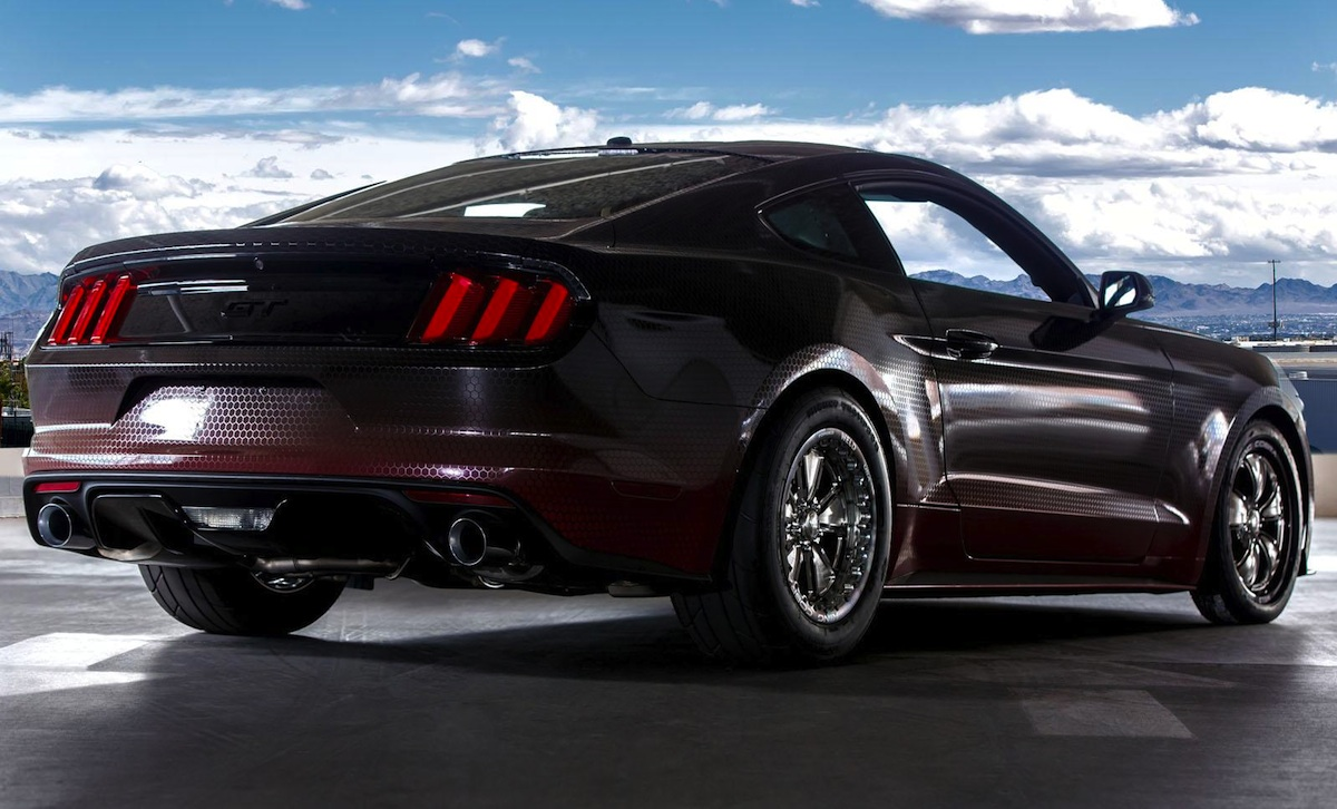 ford racing unveils mustang gt king cobra at sema. Black Bedroom Furniture Sets. Home Design Ideas