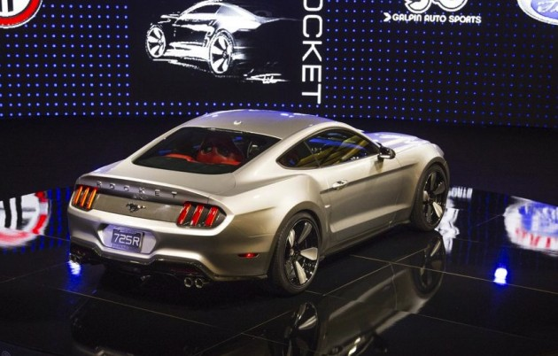 GAS 2015 Ford Mustang-rear