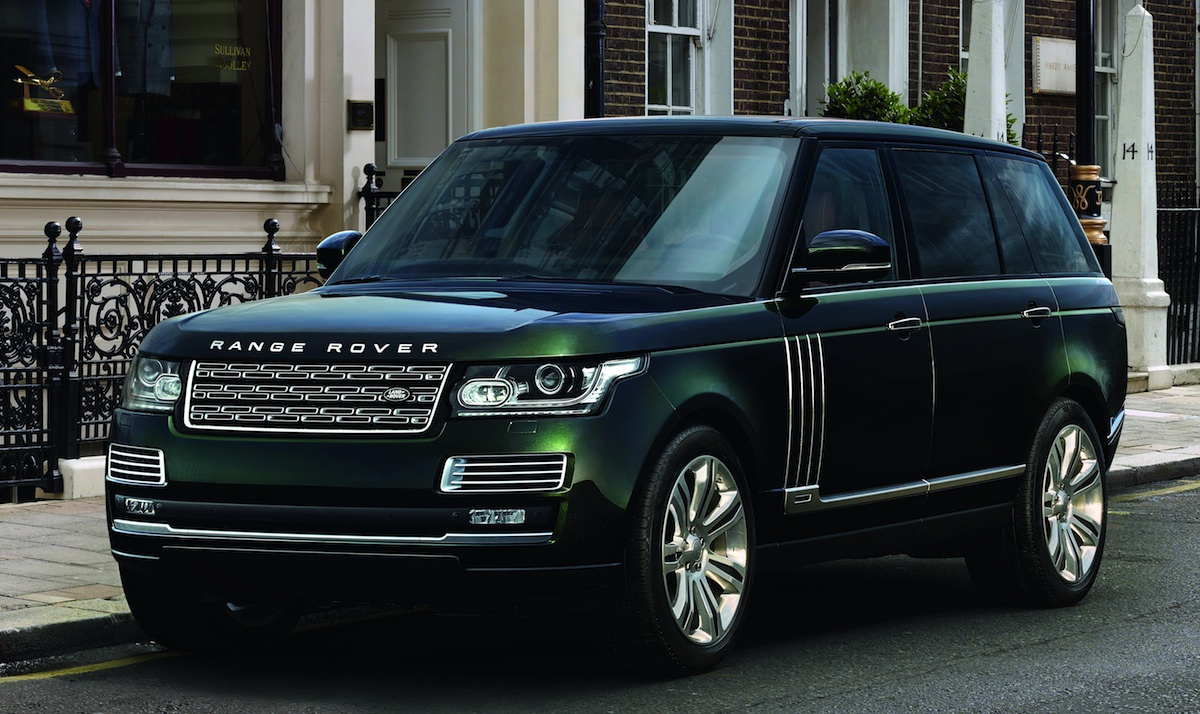 Range Rover Autobiography Holland And Holland >> Holland & Holland Range Rover comes with shotgun holsters   PerformanceDrive