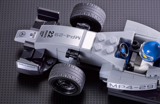 LEGO McLaren F1 car 2014-preview