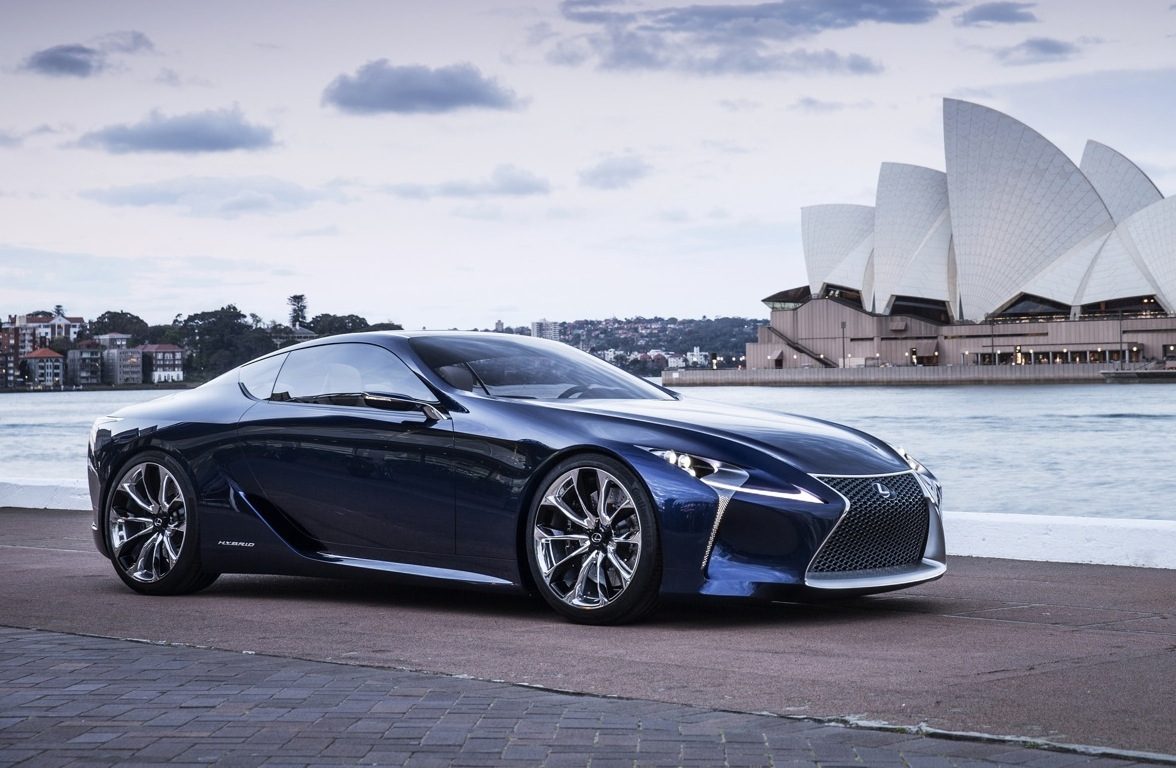 lexus lf lc inspired production car confirmed not lfa