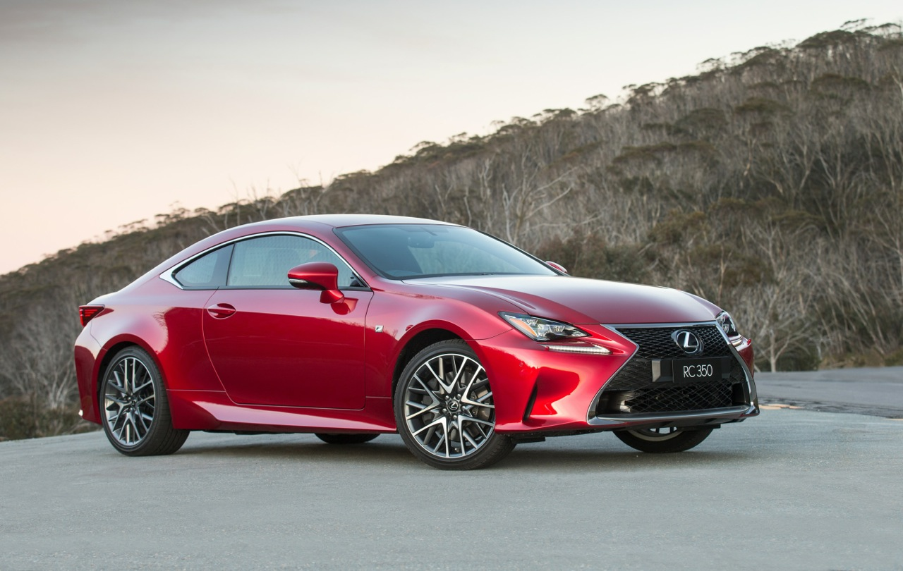 lexus rc 350 coupe now on sale in australia from 66 000 performancedrive. Black Bedroom Furniture Sets. Home Design Ideas