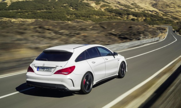 Mercedes-Benz CLA 45 AMG Shooting Brake-rear