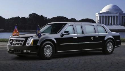 Obama Cadillac The Beast