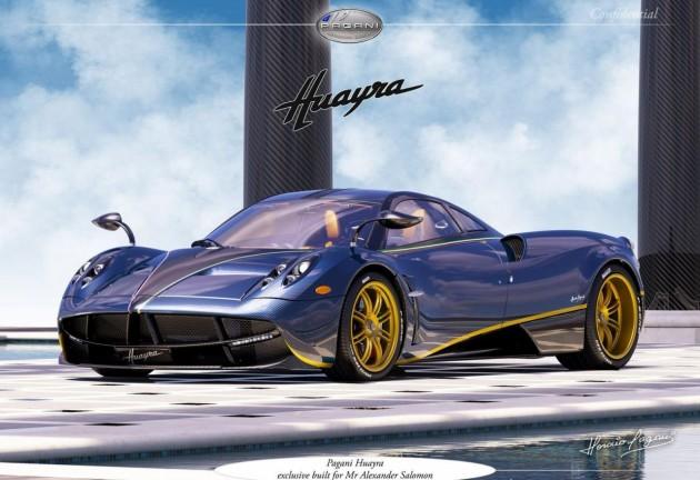 Pagani Huayra 730 S Salomon Edition