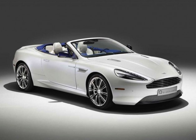 Q by Aston Martin DB9 Morning Frost