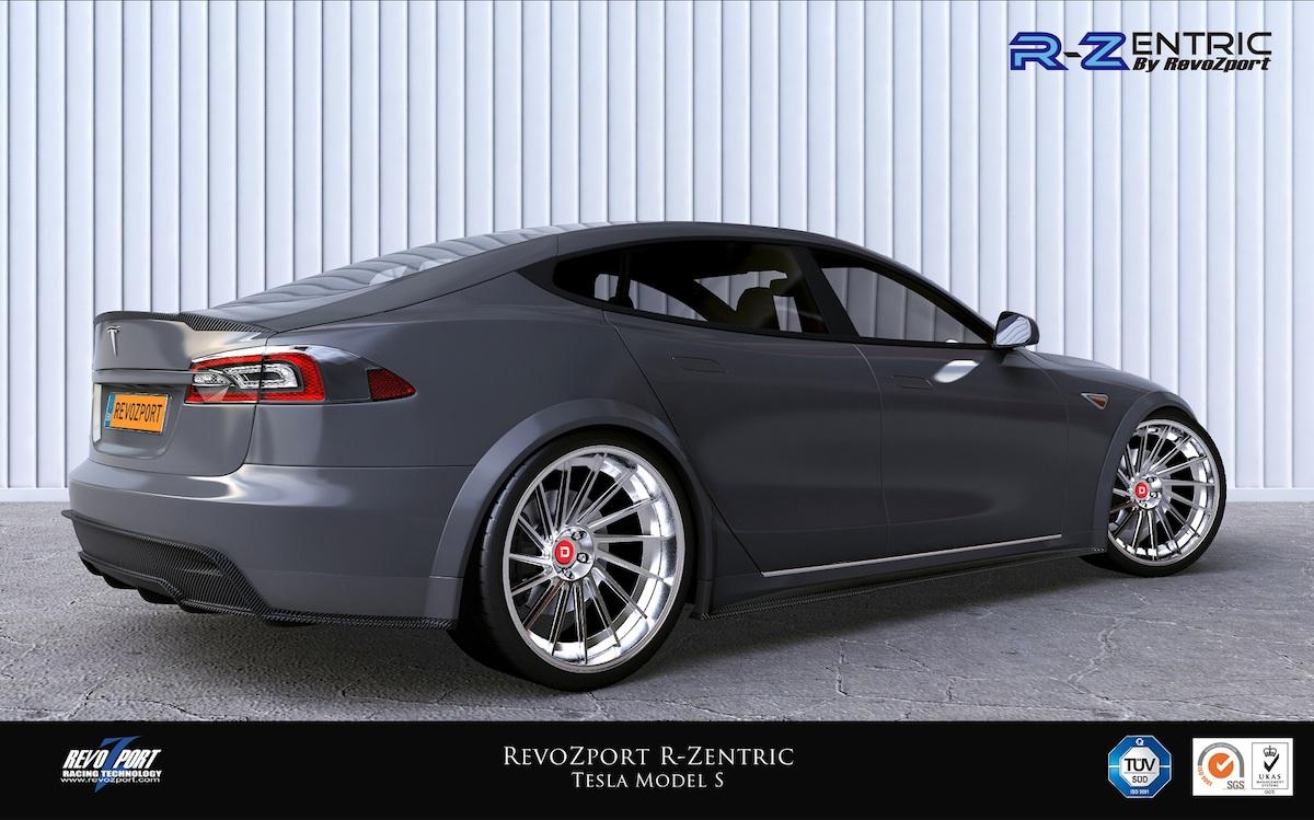 Revozport R Zentric Aerokit Developed For Tesla Model S