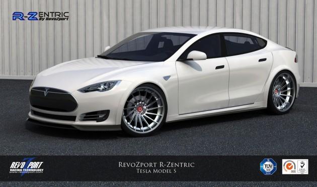 RevoZport R-Zentric Tesla Model S front