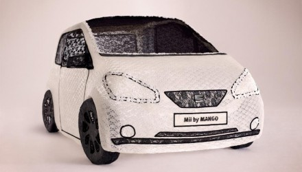 SEAT Mii by MANGO made of Lace