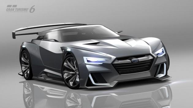 Subari Viziv GT Vision Gran Turismo concept