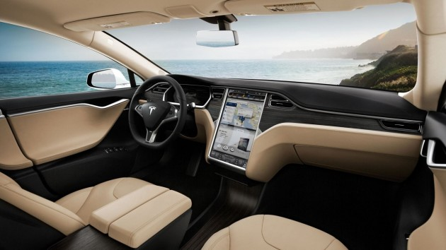 Tesla Model S-interior