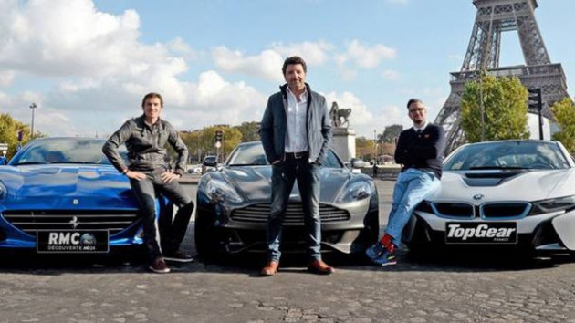 Top Gear France presenters