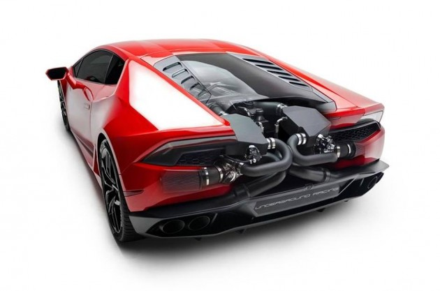 Underground Racing Lamborghini Huracan twin turbo kit