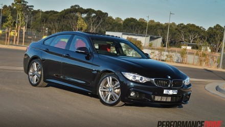 2014 BMW 435i Gran Coupe-tanzanite blue