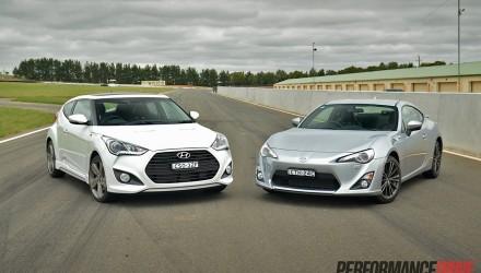 2014 Hyundai Veloster Turbo vs Toyota 86 GTS
