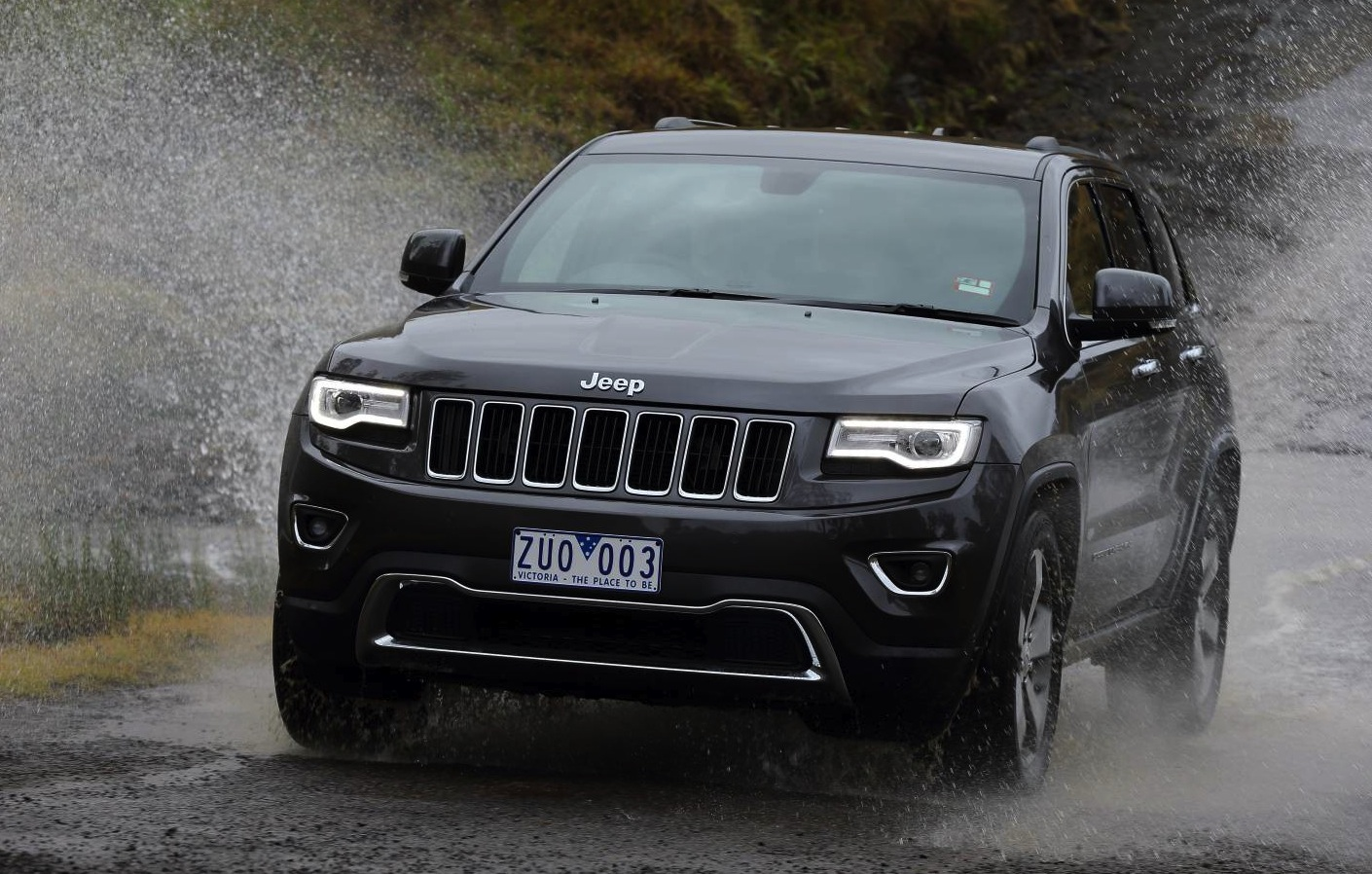 2016 jeep grand cherokee could get turbo pentastar v6 report performancedrive. Black Bedroom Furniture Sets. Home Design Ideas