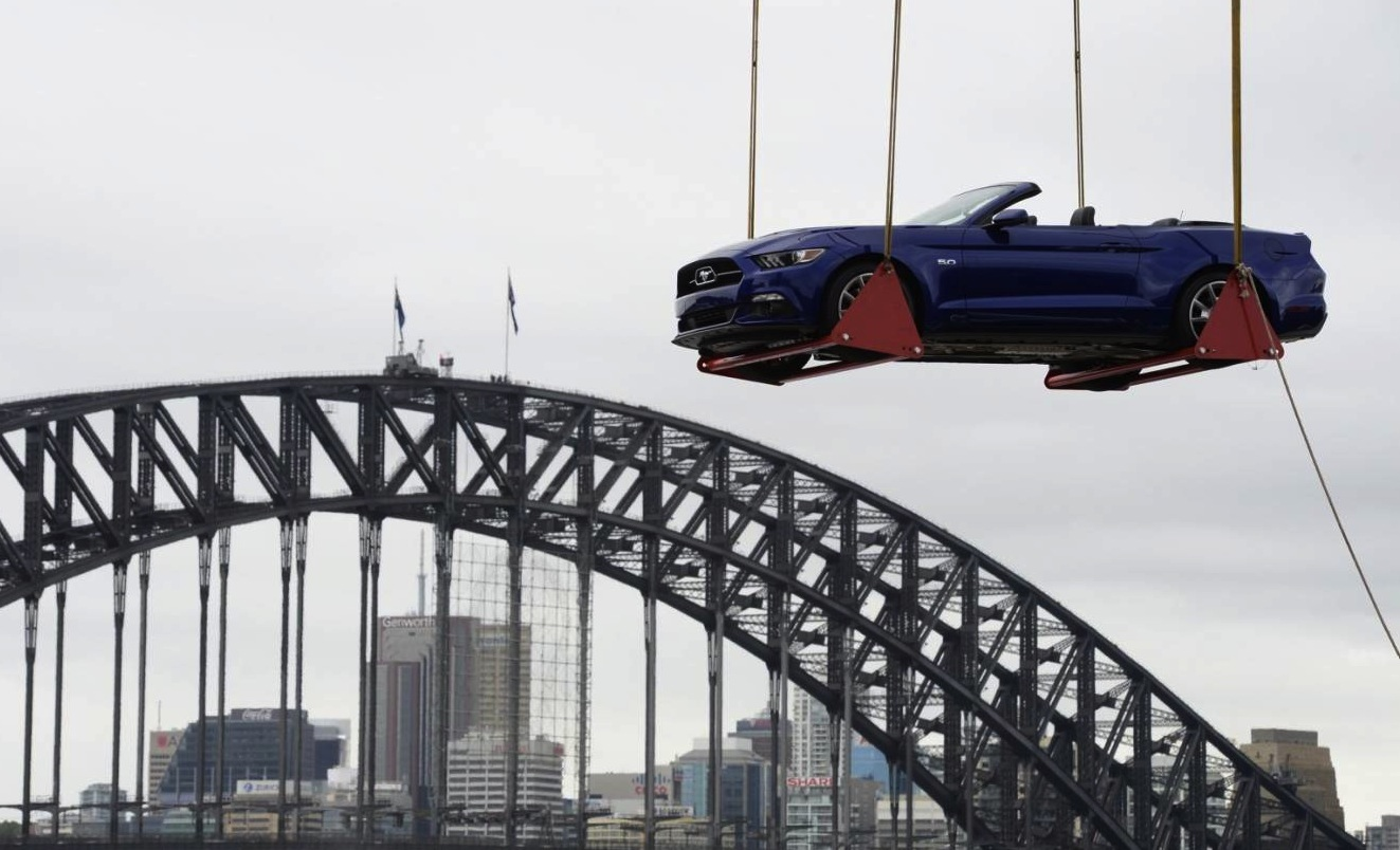 2015 Ford Mustang Used For New Year S Celebrations In