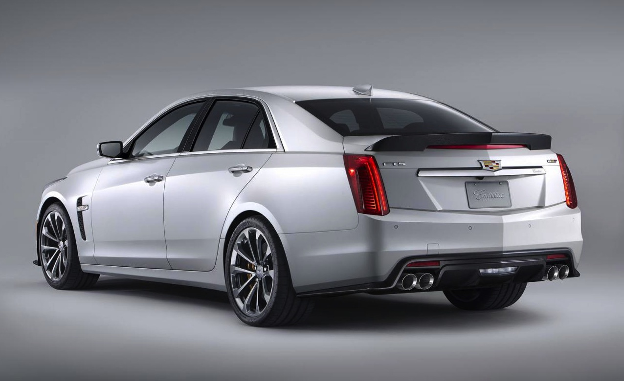2016 cadillac cts v revealed watch out german rivals. Black Bedroom Furniture Sets. Home Design Ideas
