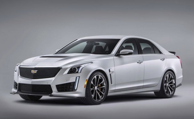 2016 Cadillac CTS-V-white