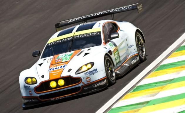 Aston Martin WEC 2014 Sao Paulo-solar panels