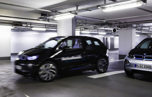 BMW i3 Remote Valet Parking