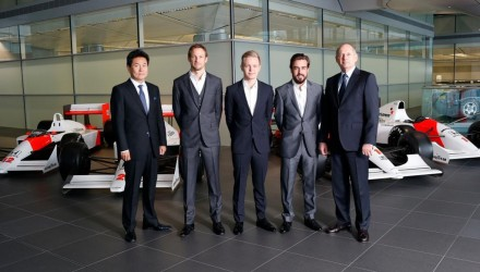 Fernando Alonso Jenson Button 2015 McLaren-Honda
