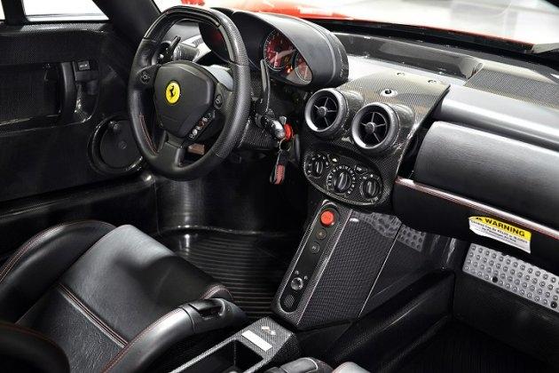 Charming Ferrari Enzo Auction Interior