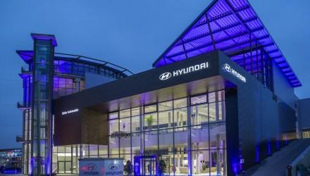 Hyundai showroom Frankfurt