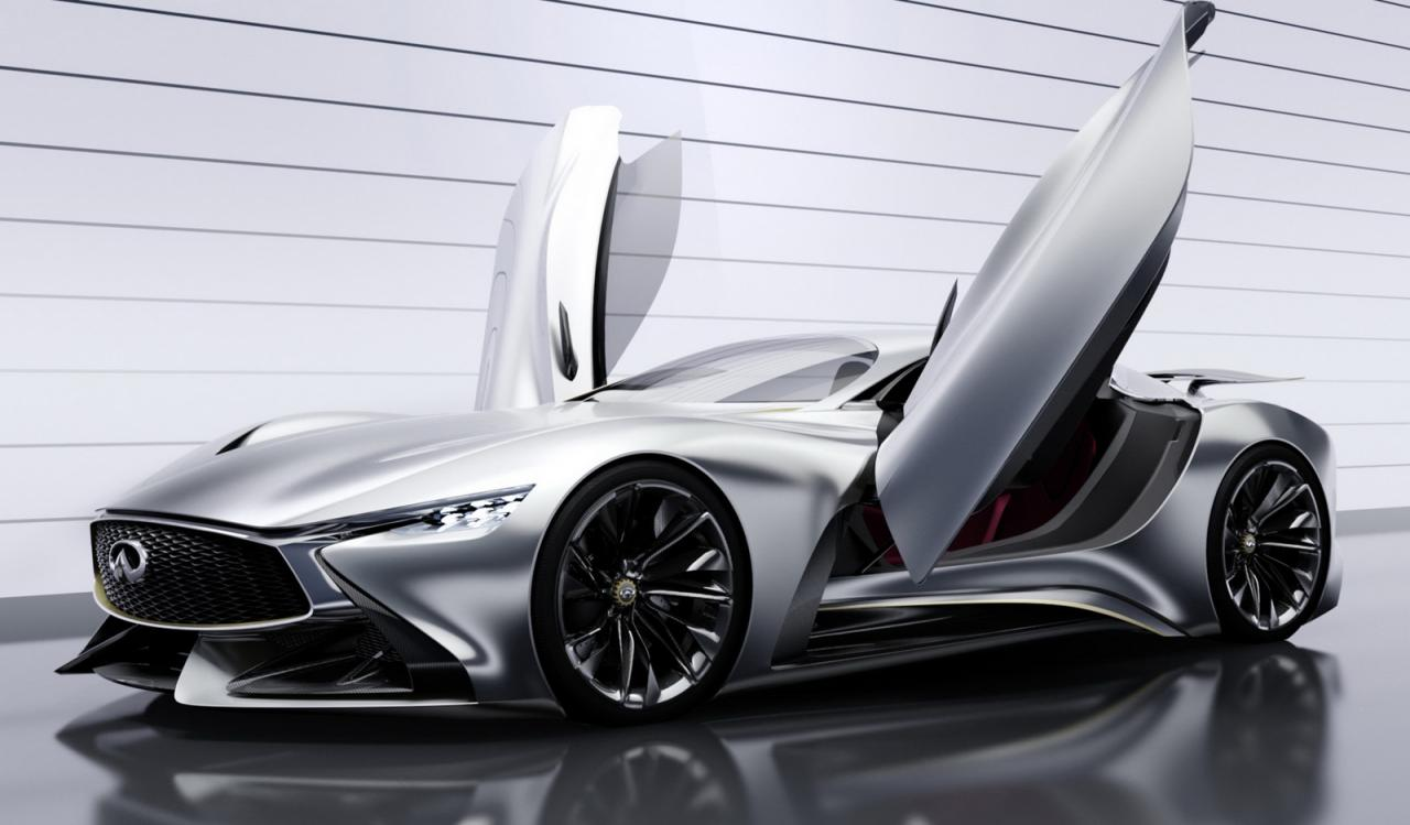 infiniti concept vision gran turismo revealed performancedrive. Black Bedroom Furniture Sets. Home Design Ideas