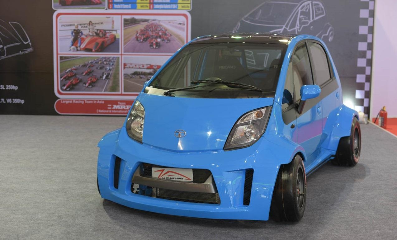 JA Motorsport builds Tata 'Super Nano', 600% more power ...