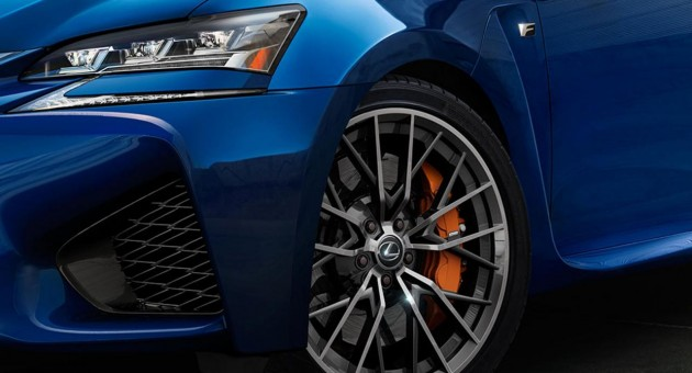 Lexus GS F brakes maybe