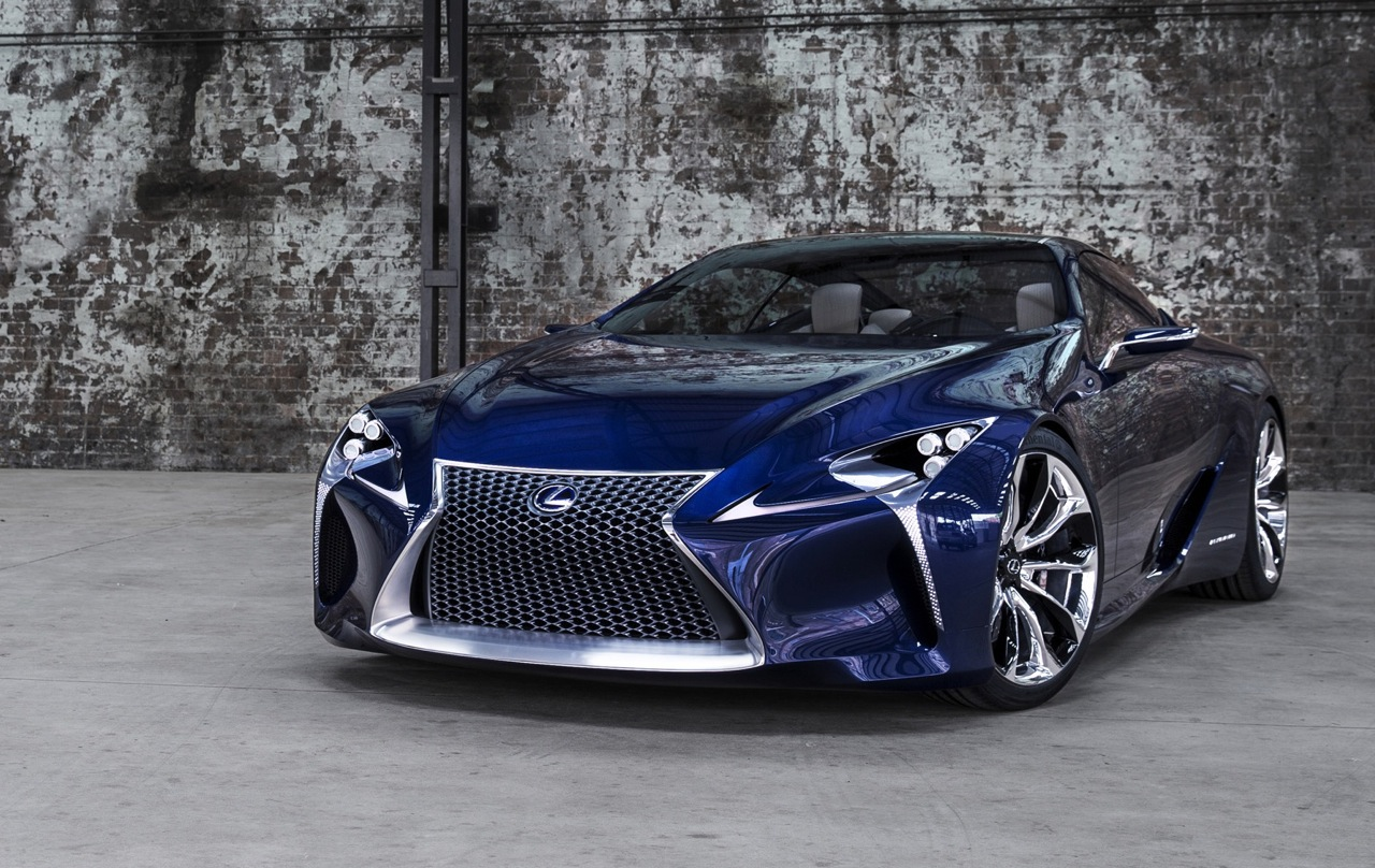 Lexus trademarks 'LC 500' & 'LC 500h', based on LF-LC ...