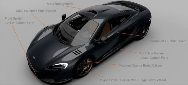 McLaren 650S MSO Limited Edition-roof